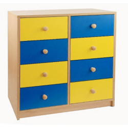 Szafka przedszkolna z szufladami