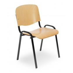 Krzesło Iso wood black