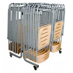 Wózek na 24 krzesła
