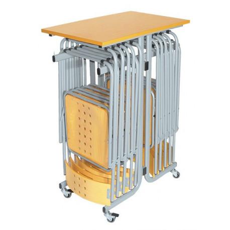 Wózek na 12 krzeseł