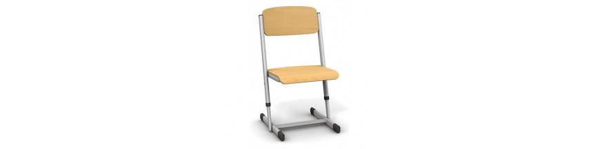 Krzesła z regulacją wysokości